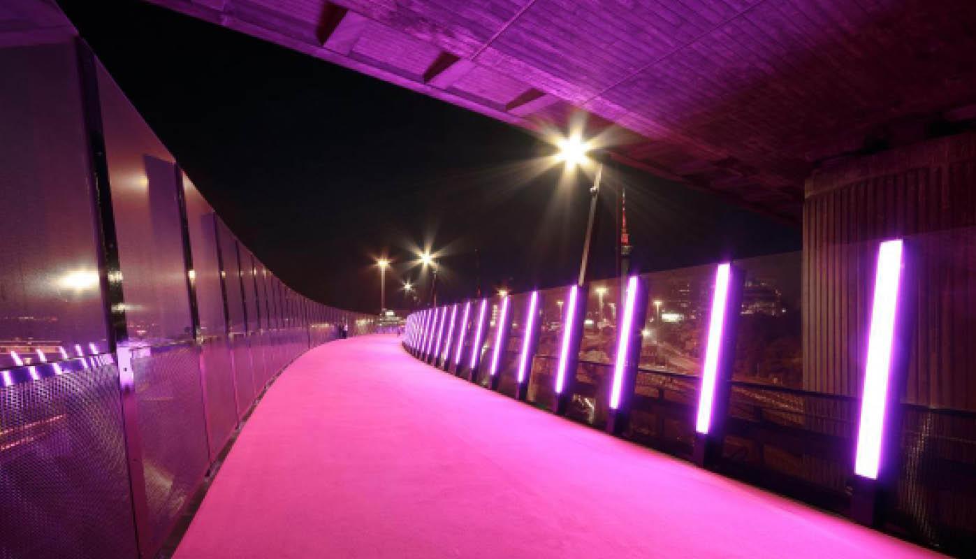 """A Ciclovia """"O Caminho Da Luz"""" Em Auckland (Nova Zelândia)"""
